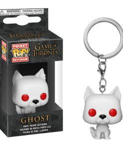 x_fk34910 Game of Thrones POP! Kulcstartó – Ghost 4 cm