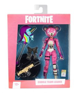 x_mcf10601-5_a Fortnite Games Akciófigura - Cuddle Team Leader 18 cm