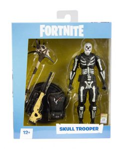 x_mcf10602-2 Fortnite Games Akciófigura - Skull Trooper 18 cm