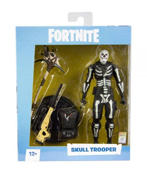 x_mcf10602-2 Fortnite Games Akciófigura - Skull Trooper 18 cm