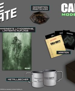 x_mer-1070 Call of Duty Modern Warfare - Huge Crate Fan Box