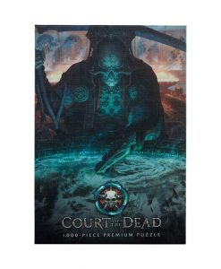 x_usapz121-527 Court of the Dead Puzzle - The Dark Shepherd's Reflection 1000 db-os
