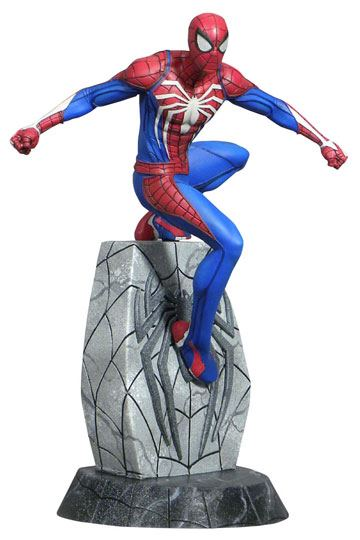 d_diamjan192552 Spider-Man 2018 Marvel Video Game Gallery PVC Szobor - Spider-Man 25 cm