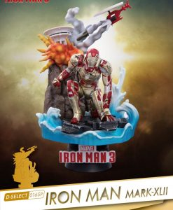 x_bkdds-016sp Iron Man 3 D-Select PVC Diorama Iron Man Mark XLII 15 cm