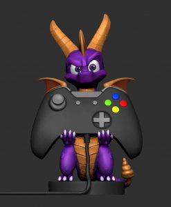 x_exgspyro Spyro the Dragon - Cable Guy Spyro 20 cm