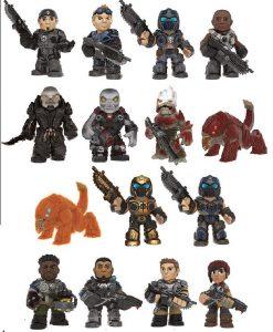x_fk11356_a x_fk11356 Gears of War Mystery Mini Figura 5 cm