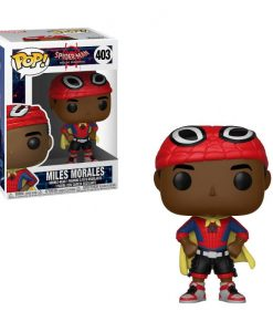x_fk33976 Marvel Comics Spider-Man Animated Funko POP! Figura - Miles with Cape 9 cm