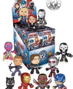 x_fk7480 Captain America Civil War Mystery Mini Figura 6 cm