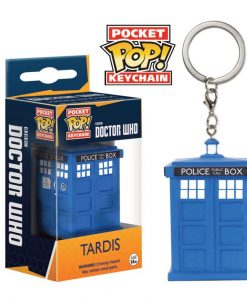 x_fk8689 Doctor Who Pocket POP! Vinyl Keychain Tardis 4 cm