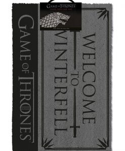 x_gp85202 Game of Thrones lábtörlő - Welcome to Winterfell 40 x 57 cm