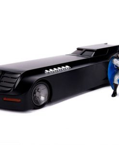 x_jada30916 Batman Animated Series Metals Diecast Model 1/24 Batmobile with figure