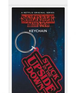 x_rk38887c Stranger Things gumi kulcstartó - Stuck In The Upside Down 6 cm