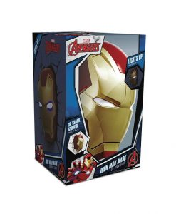 x_3dl49465_a Marvel 3D LED Light Iron Man