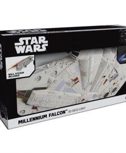x_3dl52641_a Star Wars 3D LED világítás - Millennium Falcon