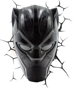 x_3dl74320 Marvel Comics 3D LED világítás - Black Panther