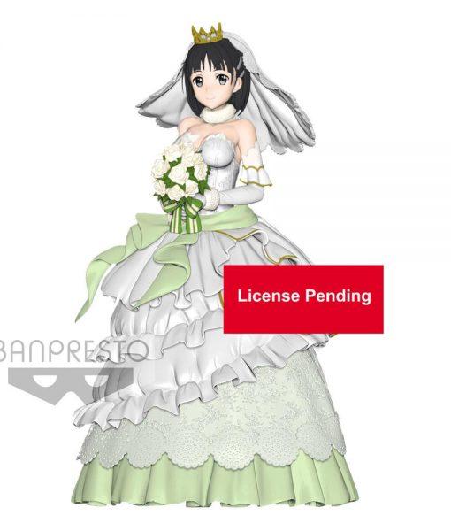 x_banp82521 Sword Art Online Code Register EXQ Figura - Wedding Suguha 23 cm