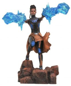 x_diamjul182503 Black Panther Marvel Movie Gallery PVC Szobor - Shuri 23 cm