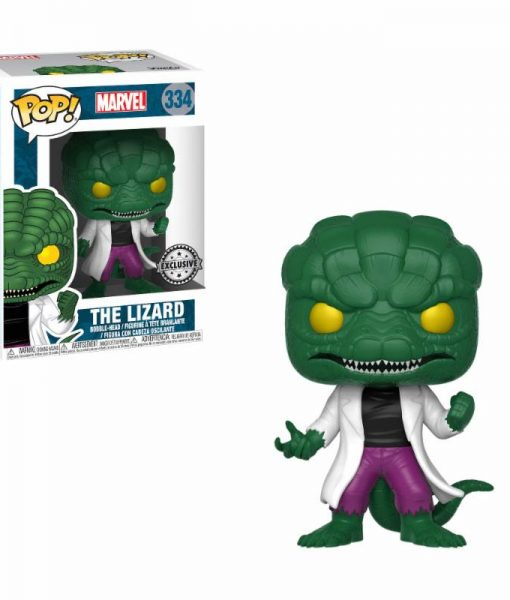 x_fk29720 Marvel Comics Funko POP! figura - The Lizard Walgreens Exclusive 9 cm