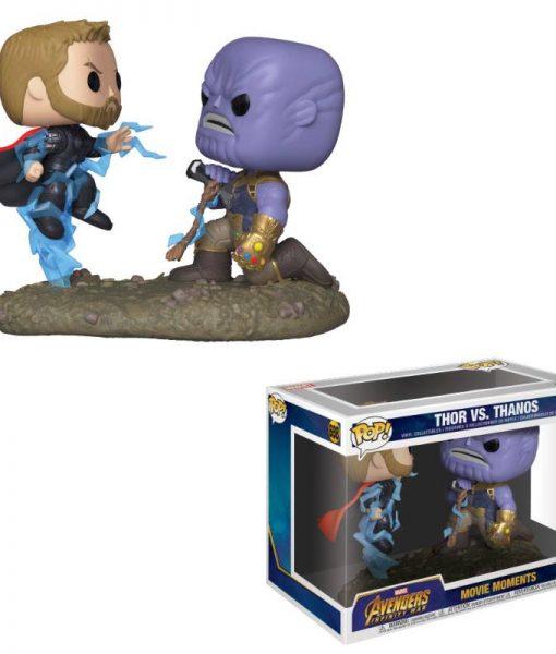 x_fk35799 Marvel Funko POP! Movie Moments Figura 2-Pack - Thor & Thanos 9 cm