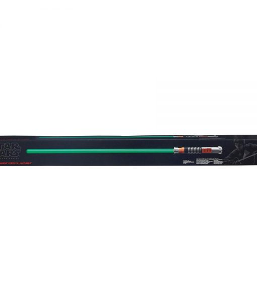 x_hasb8665 Star Wars Black Series Replicas 1/1 Force FX Deluxe fénykard - Luke Skywalker