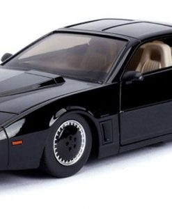 x_jada30086 Knight Rider Diecast Model - 1/24 1982 Pontiac Firebird Knightrider KITT with Light-Up Function