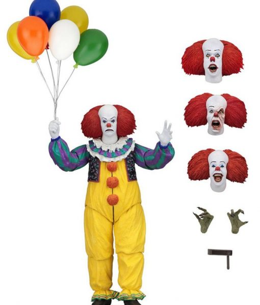 x_neca45460 Stephen King's It 1990 - Ultimate Pennywise akciófigura 18 cm