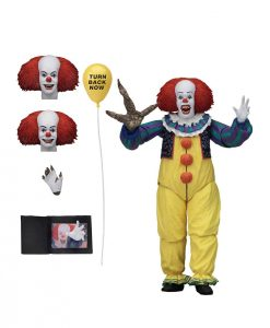 x_neca45471 Stephen King's It 1990 - Ultimate Pennywise akciófigura Version 2 18 cm