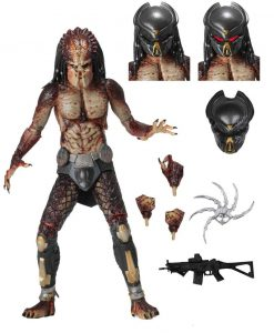 x_neca51581 Predator 2018 Akciófigura - Ultimate Fugitive Predator (Lab Escape) 20 cm