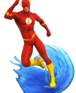 d_diamdec182503 DC Comic Gallery PVC Szobor - The Flash 23 cm