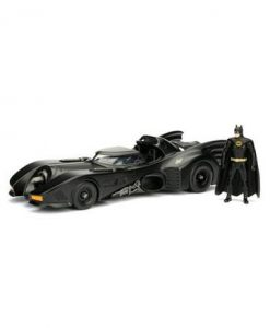 d_jada98260 Batman Metals Diecast Model 1/24 - 1989 Batmobile with figure