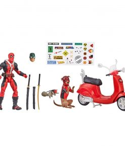 x_hase3498e480_a Marvel Legends Ultimate Akciófigura - Deadpool with Scooter