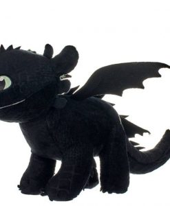 x_joy12433 How to Train Your Dragon 3 plüss - Toothless Glow In The Dark 32 cm