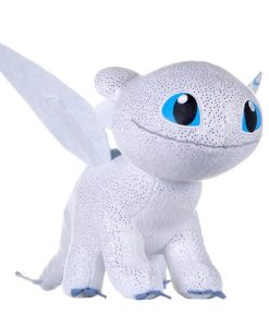 x_joy12434 How to Train Your Dragon 3 Plush Figure Light Fury Glow In The Dark 32 cm