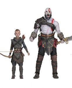 x_neca49326 God of War (2018) Ultimate akciófigura - 2-Pack Kratos & Atreus 13-18 cm