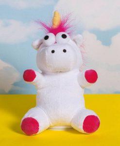 x_thup-1002146 Unicorn Vissza Beszélő Plüss 20 cm
