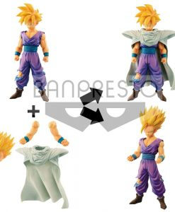 x_banp82432_a Dragonball Z Grandista Resolution of Soldiers Figura - Son Gohan 20 cm