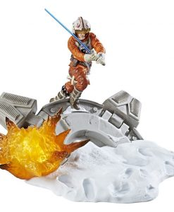 x_hasc1555 Star Wars Black Series Centerpiece Diorama Akciófigura - Luke Skywalker 15 cm