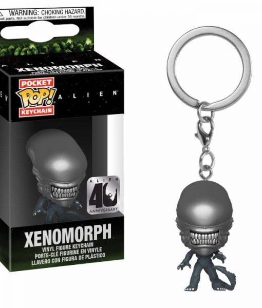x_fk37752 Alien Funko POP! kulcstartó - Xenomorph 4 cm