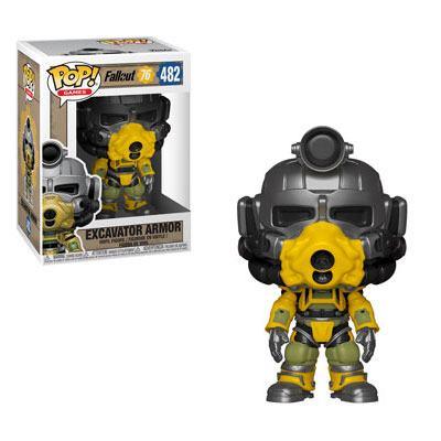 x_fk39038 Fallout 76 Funko POP! figura - Excavator Power Armor 9 cm