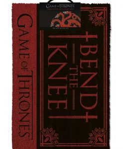 x_gp85197 Game of Thrones lábtörlő - Bend the Knee 40 x 57 cm
