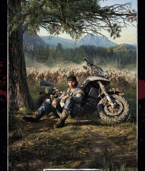 x_gye-fp4804 Days Gone - Key Art Cover 61 x 91 cm poszter