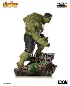 x_is77328 Avengers Infinity War BDS Art Scale Szobor - 1/10 Hulk 25 cm
