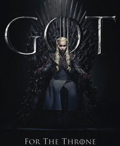 x_pp34492 Game of Thrones poszter - Daenerys for the Throne 61 x 91 cm