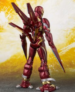 x_btn55298-3 Avengers Infinity War S.H. Figuarts Akciófigura - Iron Man MK50 Nano Weapons Tamashii Web Ex. 16 cm