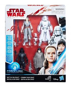 x_hase0321_a Star Wars Akciófigura pakk 4 db - 2018 Battle on Crait 10 cm