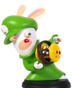 x_ubi300093020 Mario + Rabbids Kingdom Battle PVC Figura - Rabbid-Luigi 16 cm