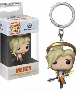 x_fk31748 Overwatch Pocket POP! Vinyl Keychain Mercy 4 cm kulcstartó