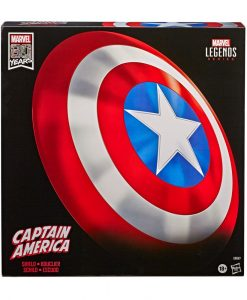 x_hase8667 Marvel Legends - Premium Role-Play Shield Captain America´s Shield 80th Anniversary 60 cm