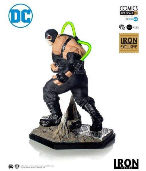 x_is300dccb DC Comics Szobor 1/10 Bane CCXP 2019 Exclusive 22 cm