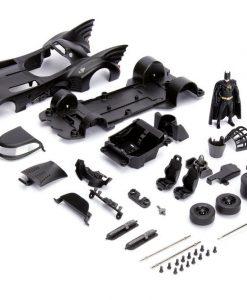 x_jada30874_b Batman Metals Diecast Model Build N' Collect 1/24 - 1989 Batmobile with figure